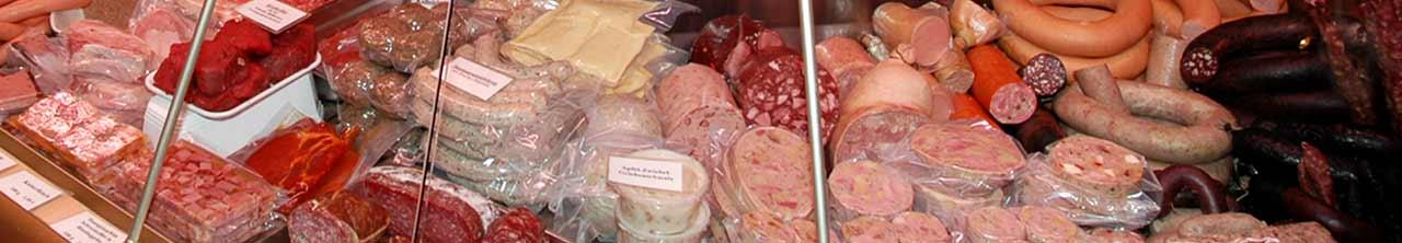 Pfälzer Hausmacher Leber- und Blutwurst, Schwartenmagen, Fleischwurst und Bratwurst von der Metzgerei Hambel in Wachenheim