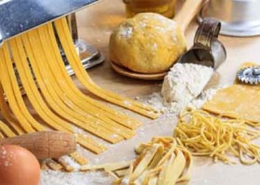 Nudeln, Pasta und Parmesan