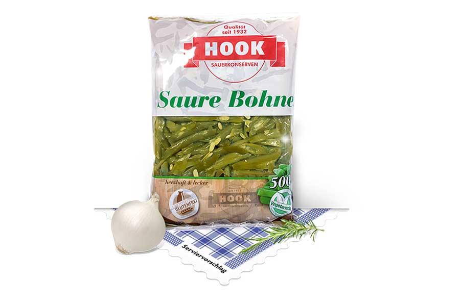 Saure Bohnen, 500g