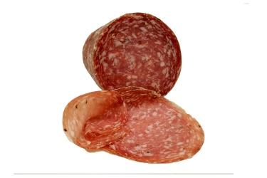 Große Salami aus einer besonders mageren Fleischmischung.